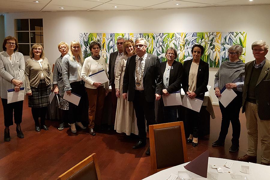 Kvinnor välkomnades i Lions Club Landskrona