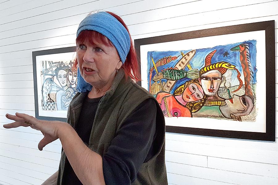 Ulrica Hydman Vallien tillbaka på Pumphuset