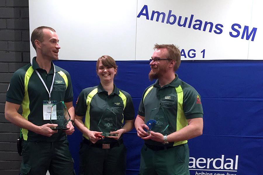 Svenska mästare i ambulanssjukvård