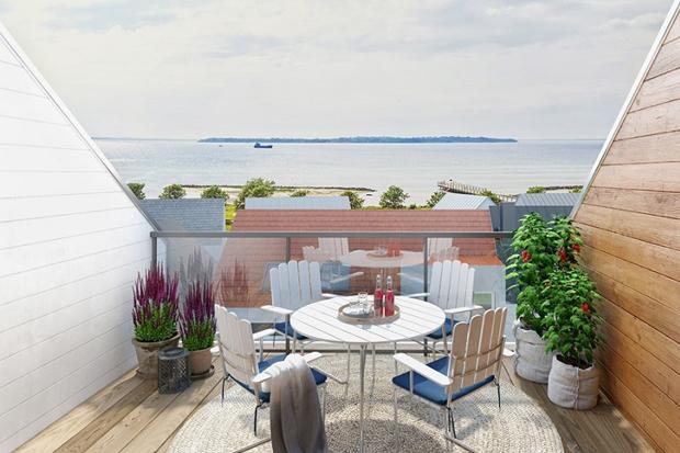 Startskott för lägenhetsprojekt på Strandbyn