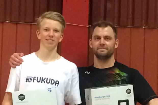 Nya framgångar för badmintonklubben