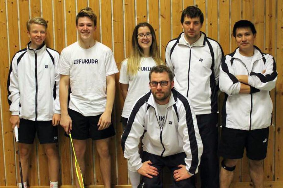 Succé för badmintonklubben