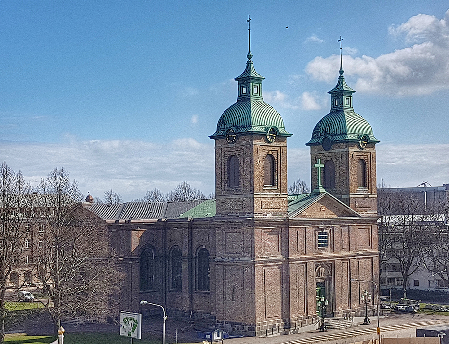 Kyrkan som byggdes på ingenting