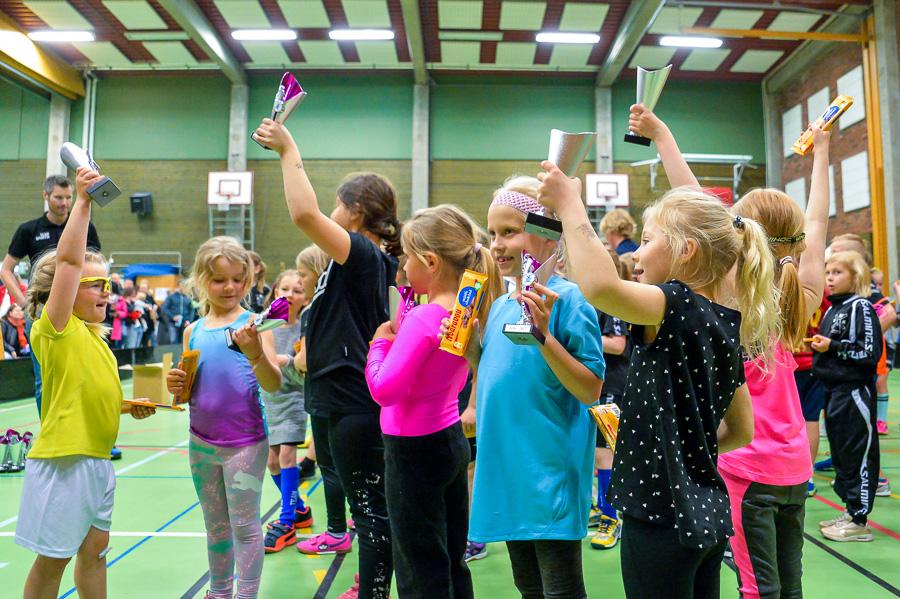 Alla spelare fick priser. Foto: Ulf Bjarke, Foto261.se