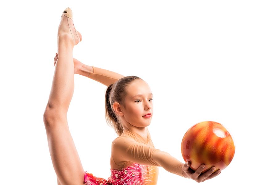 Gymnaster tävlade på hemmaplan