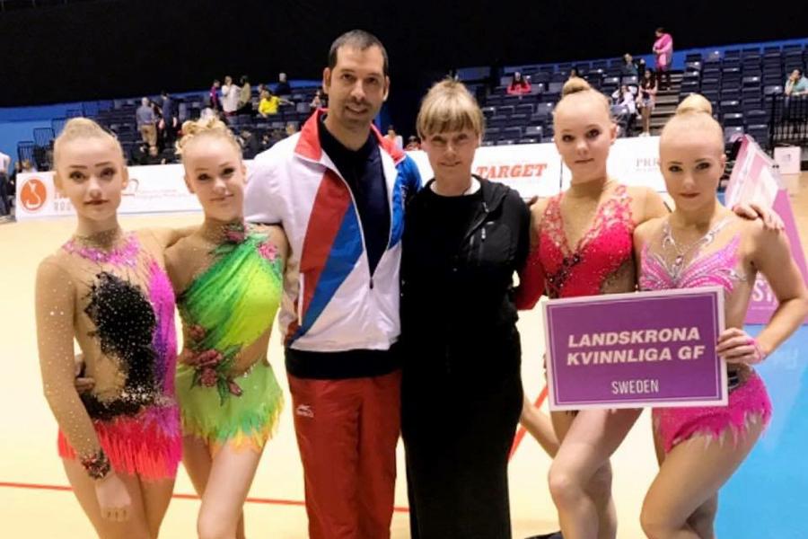 Gymnaster tävlade i Västindien