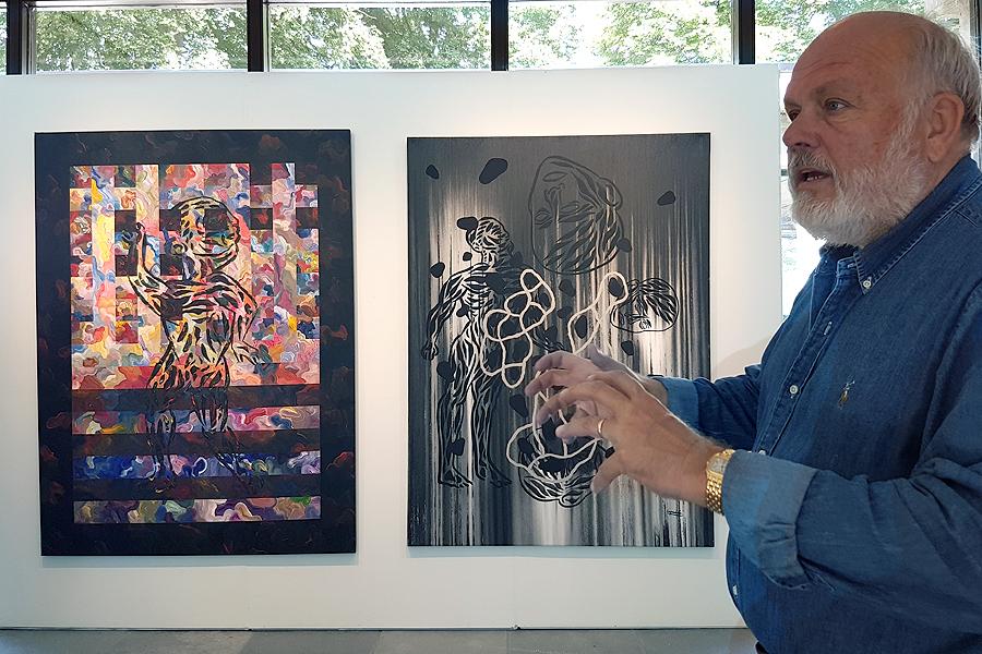 Privat samling sätter färg på konsthallen
