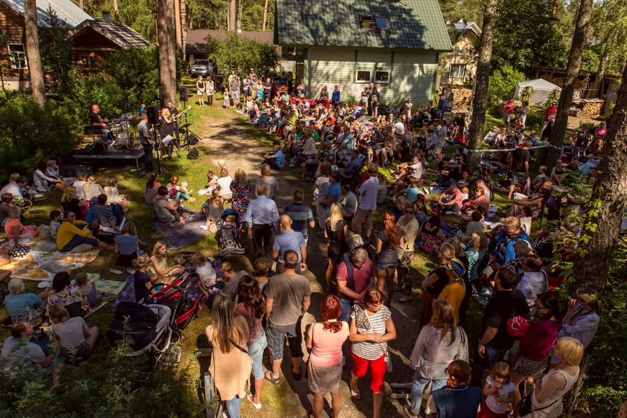 Richard Malmsten fixar jazzfestival i trädgårdar