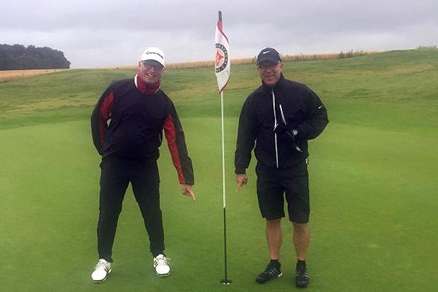 Det osannolika inträffade på golfbanan