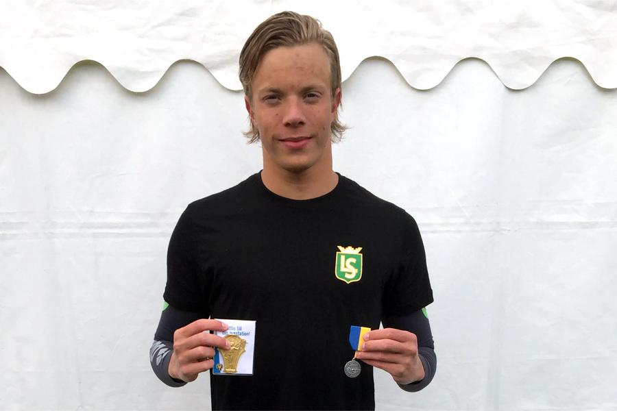 SM-medaljer till Oskar Hoff