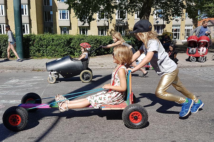 Legalt streetrace intog Eriksgatan