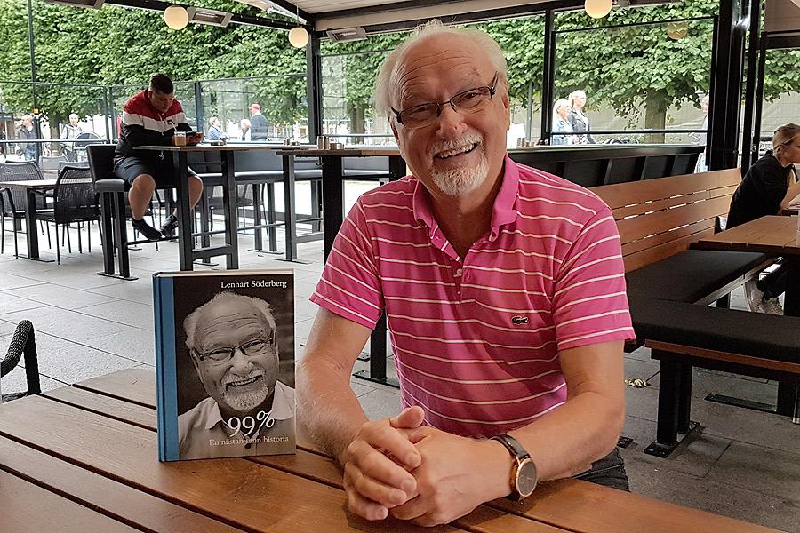 Lennart Söderberg har levt ett rikt liv. Om det kan du läsa i hans självbiografi som släpps på fredag.