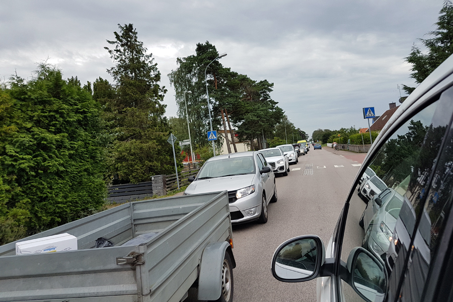 Räddningstjänsten berömmer trafikanterna