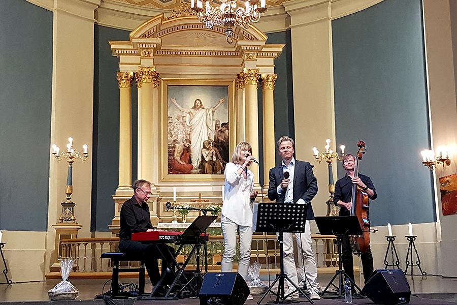 Ljudet sämre i nyrenoverad kyrka