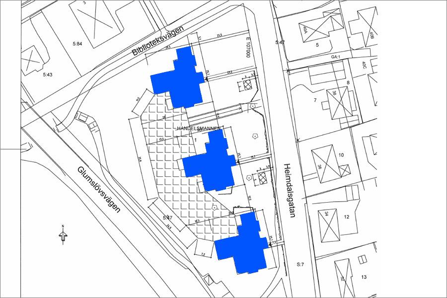 Bygglovsansökan för omstridda hus inlämnat