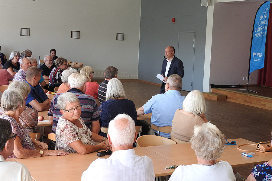 Justitie- och inrikesminister gästade PRO Landskrona
