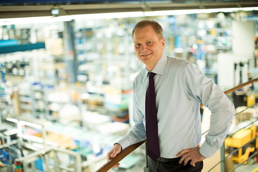 Han blir VD och koncernchef för Haldex