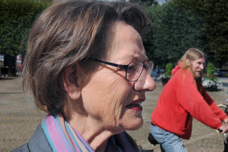 Gudrun Schyman kommer till Landskrona