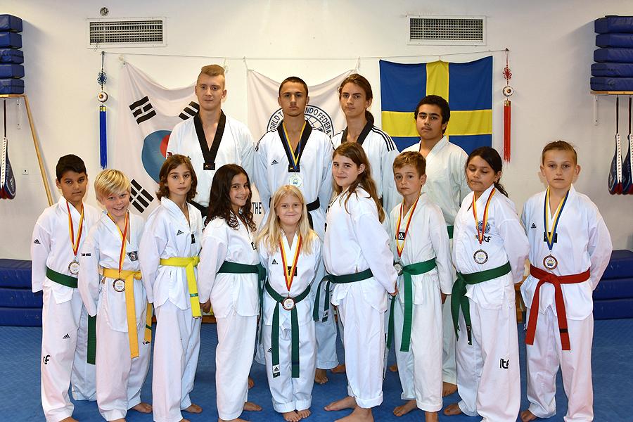 Tävlingssäsongen igång för taekwondokämparna