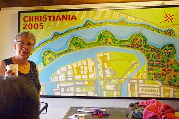 Friluftsfrämjandet gjorde studiebesök på Christiania