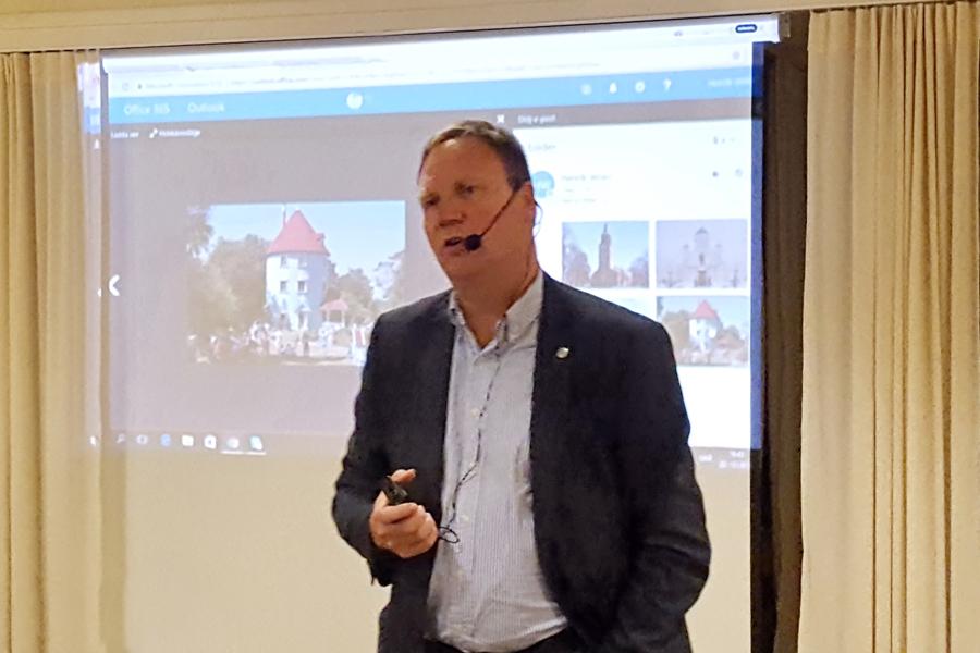 Föredrag hos Föreningen Norden om Finland 100 år