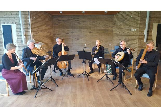 Renässansmusik centrerat kring Martin Luther