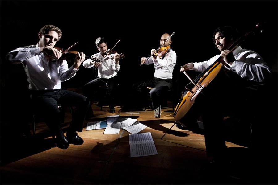 Exklusiv kvartett gästar församlingshemmet