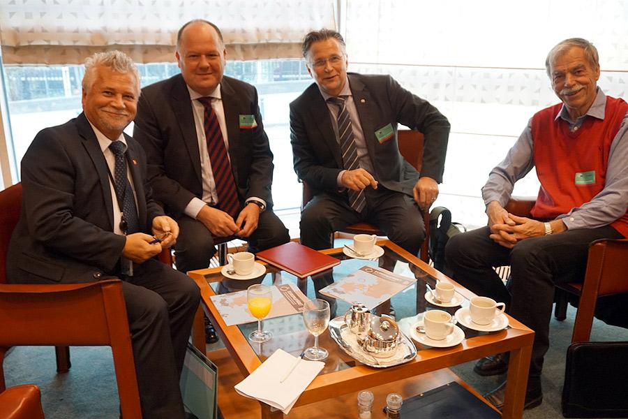 Lyckade möten i Bryssel