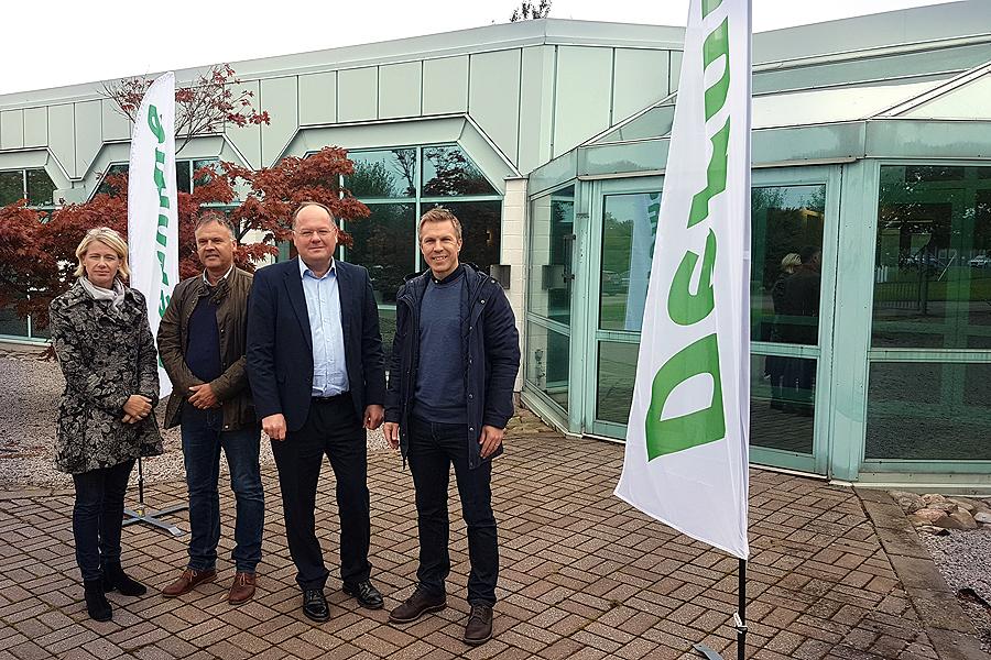 Derome etablerar huvudlager i Landskrona