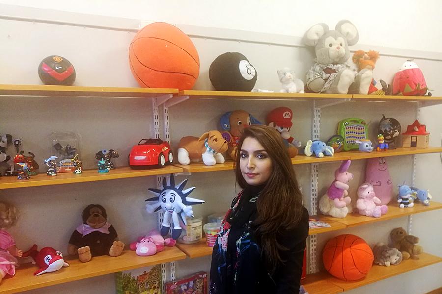 Rekordstor butik för barnprylar