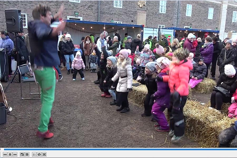 Östbergs nya barnshow en succé