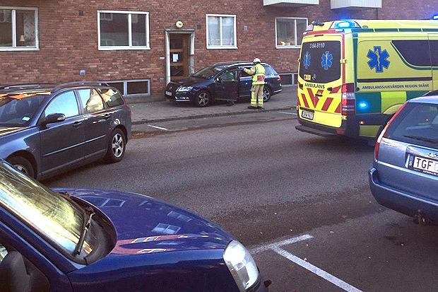 Olycka på Föreningsgatan