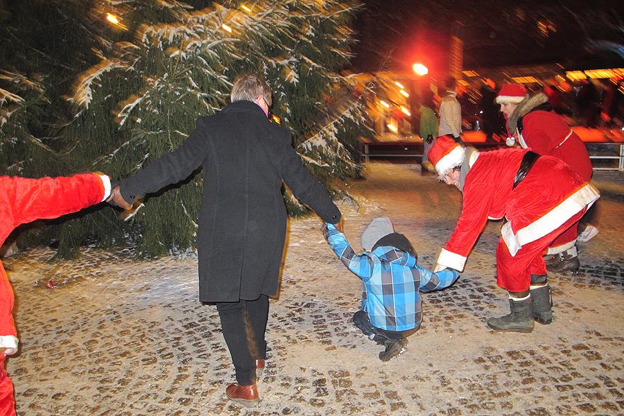 """Barnen i centrum på """"juldagen"""""""