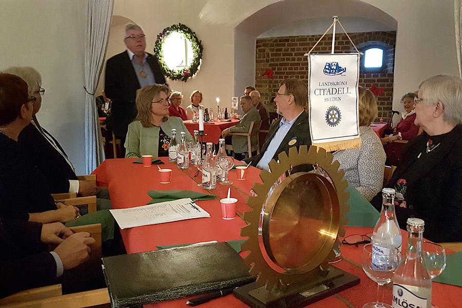 Traditionellt julmöte hölls på Citadellet
