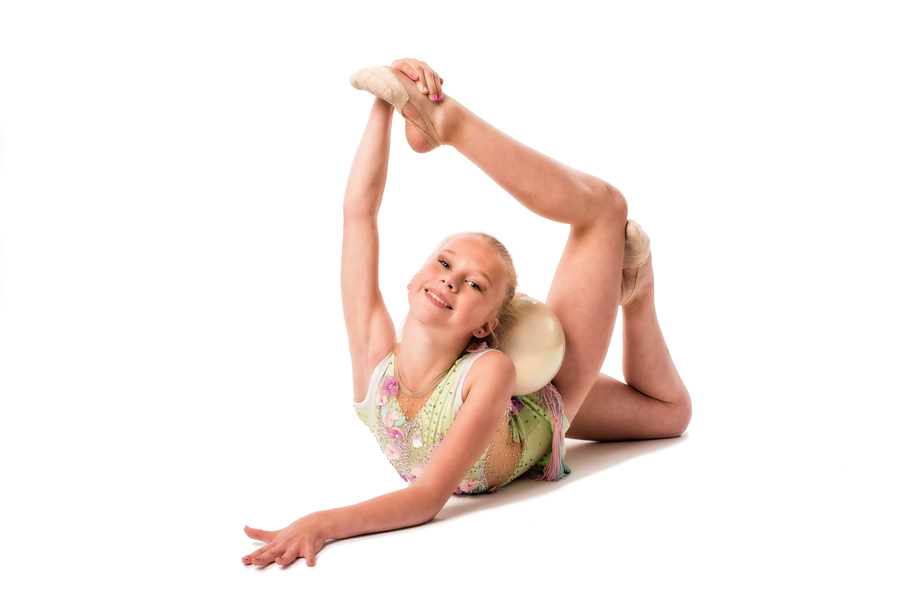 Gymnaster tävlade i Uppsala