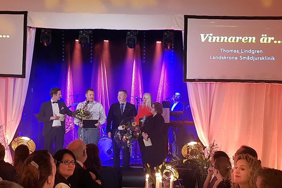 Företagare och företag prisades på gala