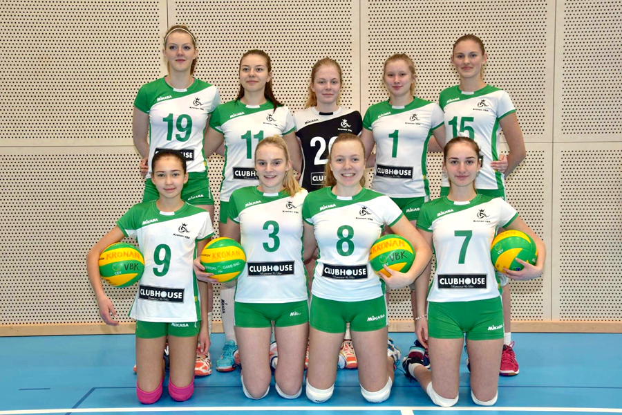 Kronans U18-tjejer klara för SM