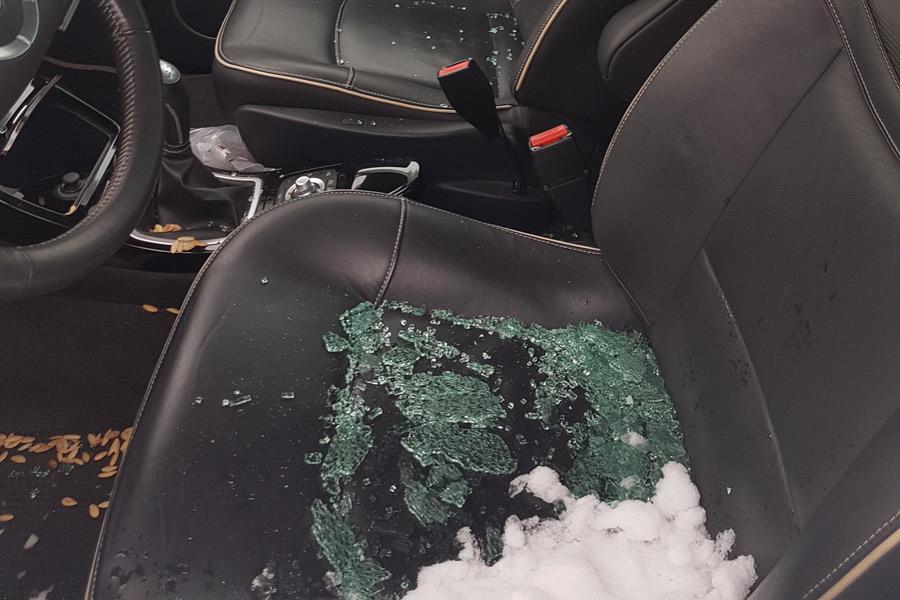 Flera bilinbrott anmälda till polisen
