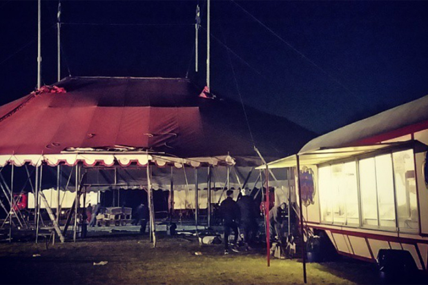 När cirkusen kom till stan