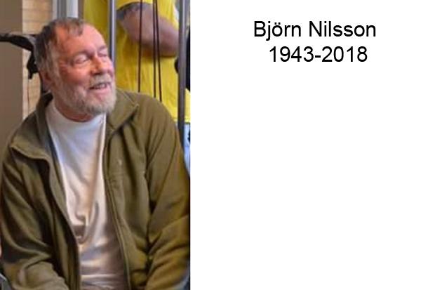 Till minne av Björn Nilsson