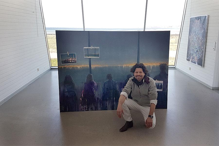Personligt och norskt på Pumphusets konsthall
