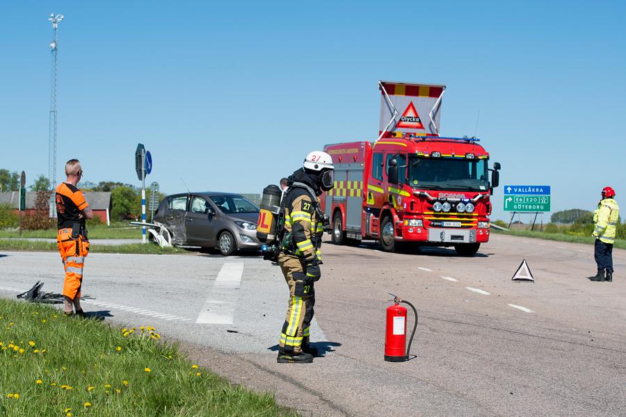 Olycka på Vallåkravägen