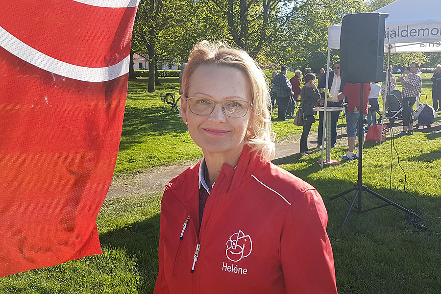 Migrationsministern gästade Landskrona