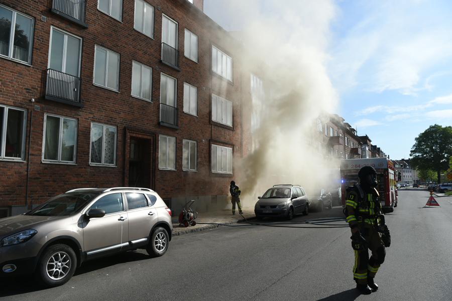 Källarbrand på Ödmanssonsgatan