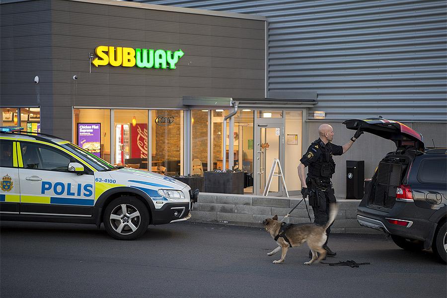 Väpnat rån mot Subway