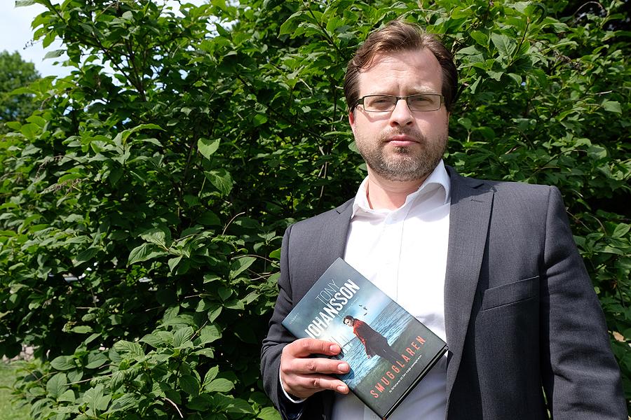 Ny thriller i Landskronamiljö av Tony Johansson