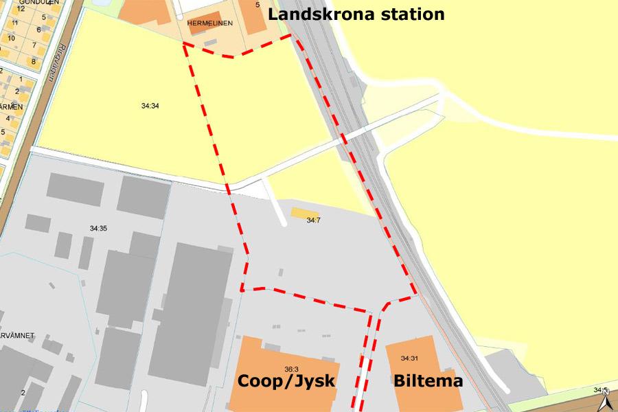 Kommunen väntas köpa mark för 10 miljoner kronor