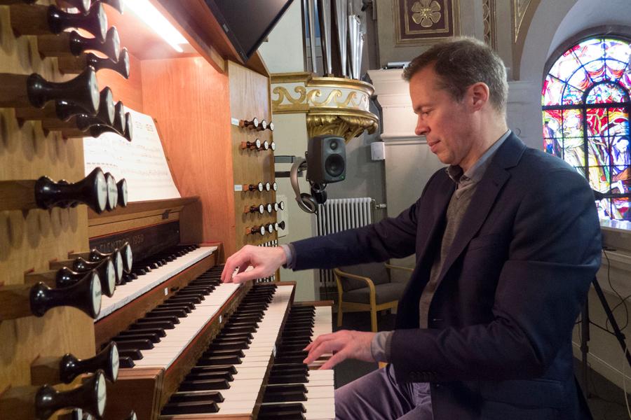 Orgelkonsert i Sofia Albertina