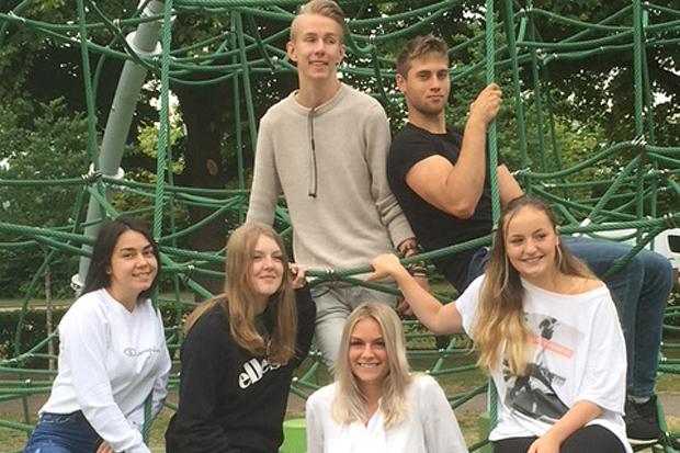 Unga jobbar för minskat tobaksbruk