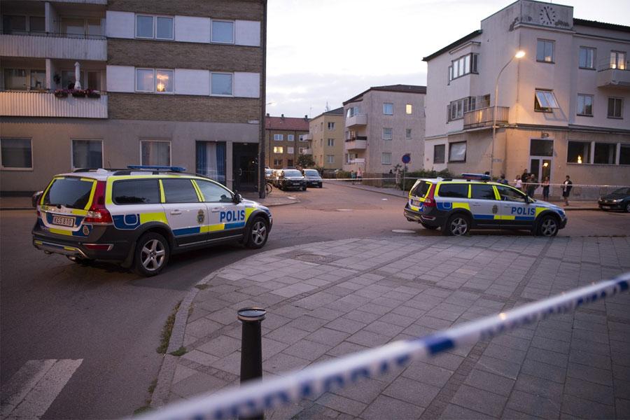 Mordförsök på Järnvägsgatan